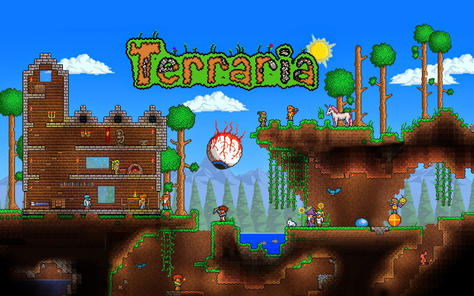 Game Android Terraria 1.1.92 Apk Full Android