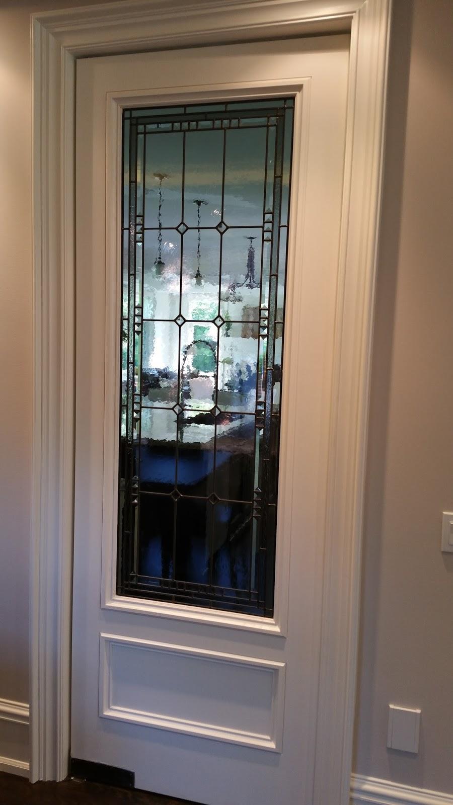 Glassworks Studio: Many Interior door inserts for the ...