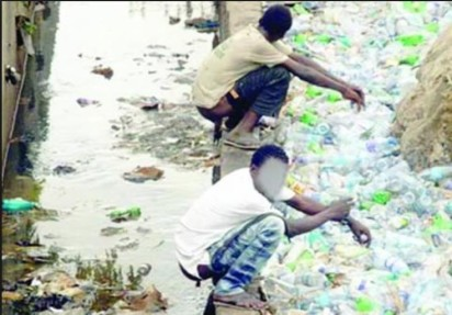 Millions of Nigerians defecate openly
