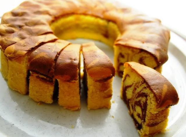 Resep Cake Jadul Enak: Resep Dan Cara Membuat Marmer Cake Jadul Ala Pak Sahak