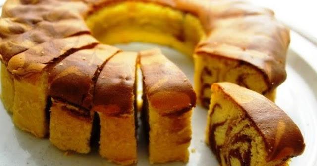 Resep Dan Cara Membuat Marmer Cake Jadul Ala Pak Sahak