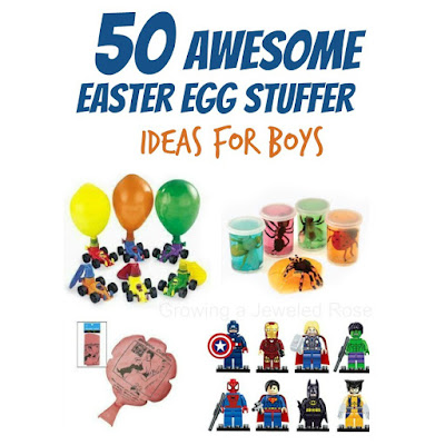 50 unique & creative Easter Egg Stuffer Ideas for Boys | So many neat ideas- NO CANDY!