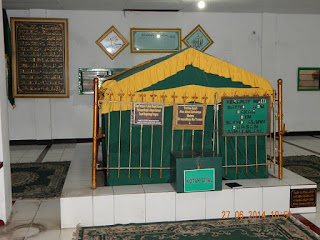 maqom Sayyid Abu Bakar bin Sayyid Aluwi Bahsan Jamalulail keramat mangga dua jakarta