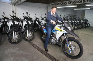 Crivella recebe motos para reforço do patrulhamento da Guarda Municipal do Rio de Janeiro