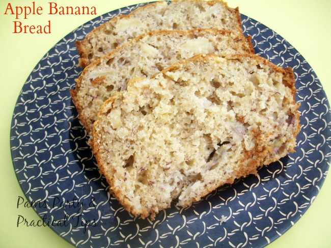 How to make Apple Banana Bread