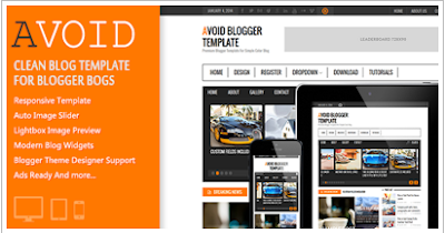 Download template Blogger Premium Free Avoid Responsive New terbaru 2016