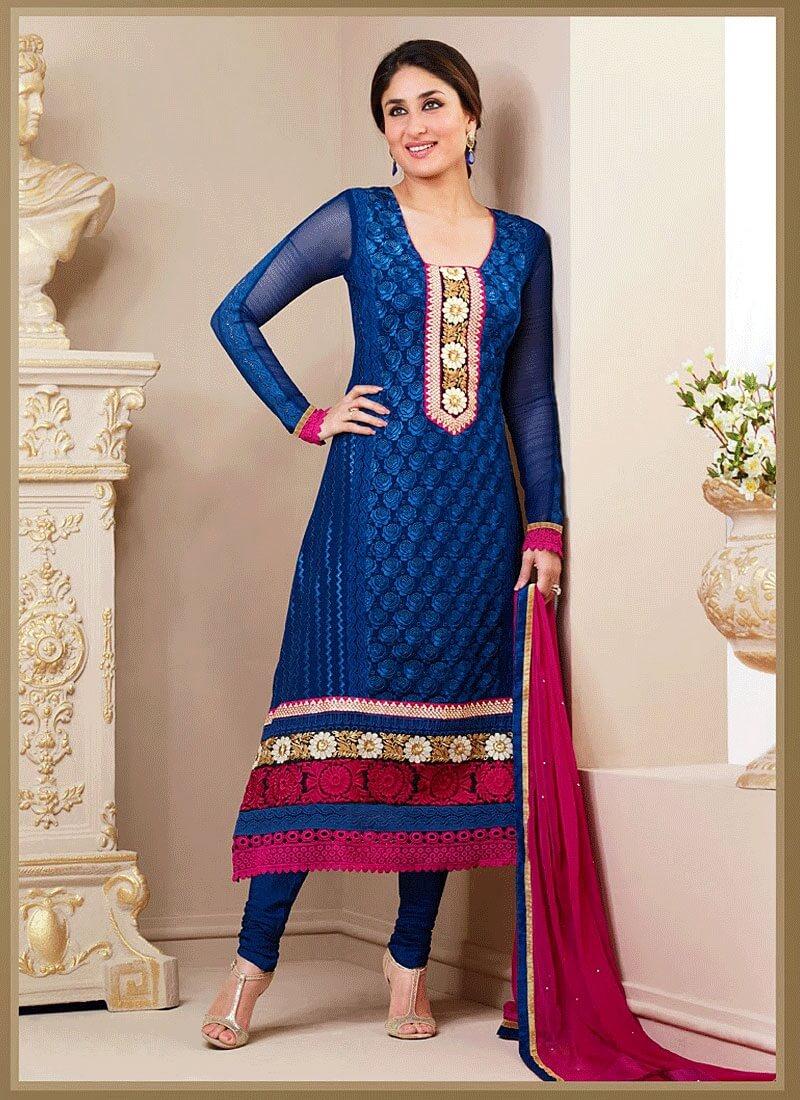 Kareena Kapoor Blue Suit  Desi Masala Desi Hindi Chudai -7613