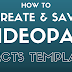 Create Custom Effects Templates with VideoPad