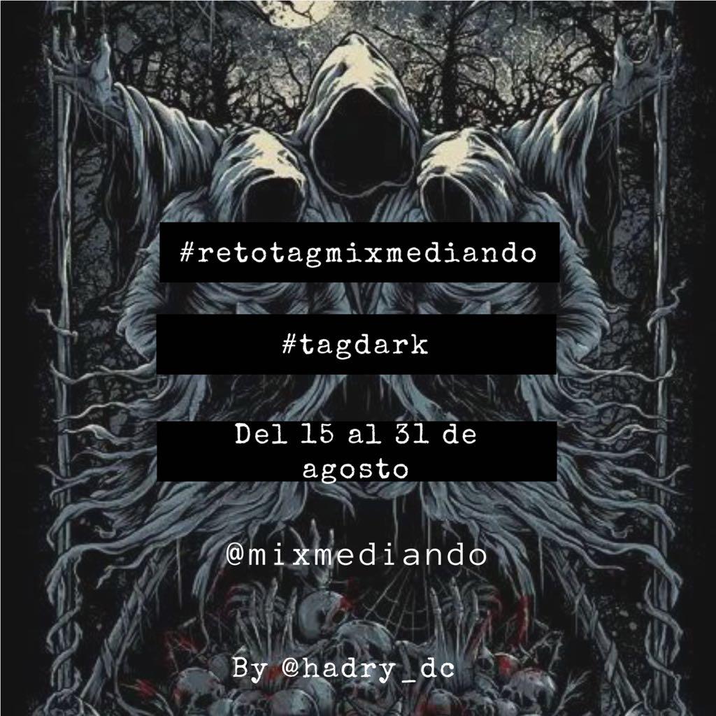 Cartel del #tagdark