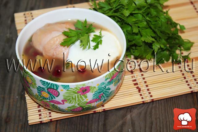 рецепт фасолевого супа