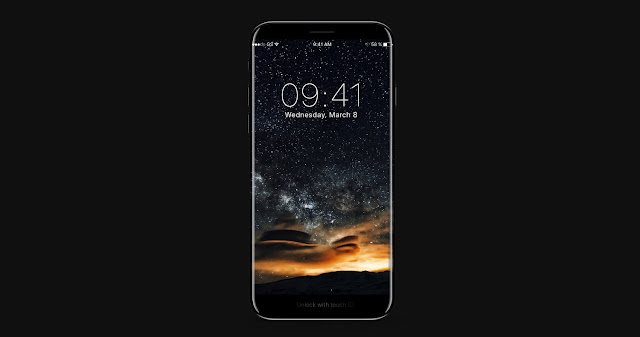 A new iPhone 8 mockup has just hit the internet which shows what the next iPhone 8 could look like.