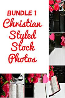 Bundle 1 Christian Styled Stock Photos