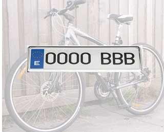 matricular y seguro de bicis