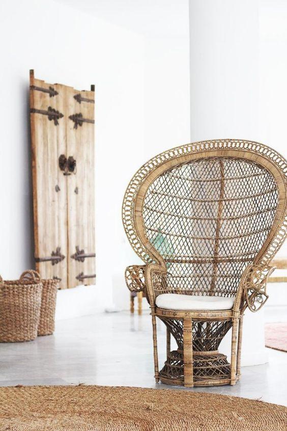 home garden 70 inspirations pour mettre un fauteuil emmanuelle dans sa d co. Black Bedroom Furniture Sets. Home Design Ideas
