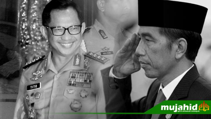 Jokowi Persiapkan Tito Sebagai Cawapres di Pilpres 2019?