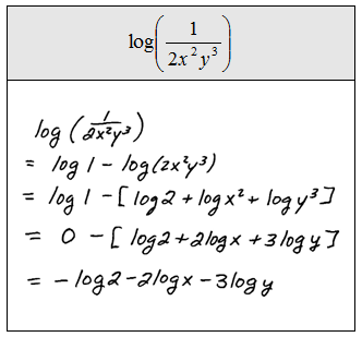 rewrite as a single logarithm and simplify