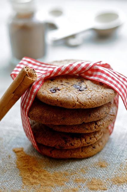 lækre småkager med chokolade
