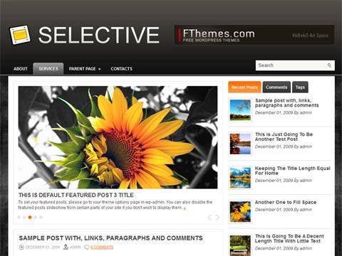 Selective Free WordPress Theme
