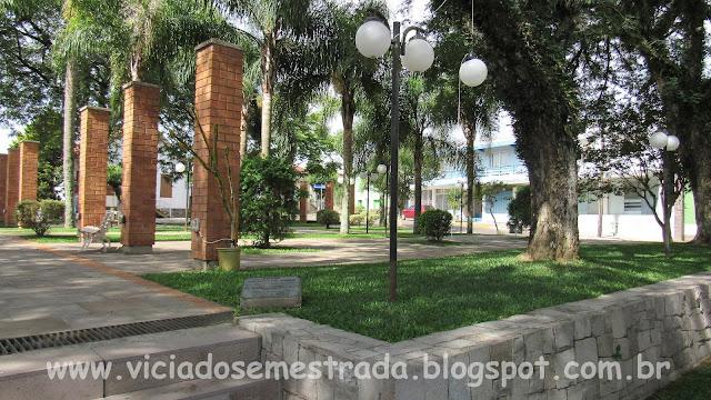 Praça Central de Cotiporã