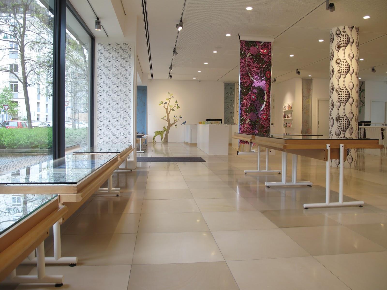 Tapeten München inke exposition galerie handwerk münchen tapeten