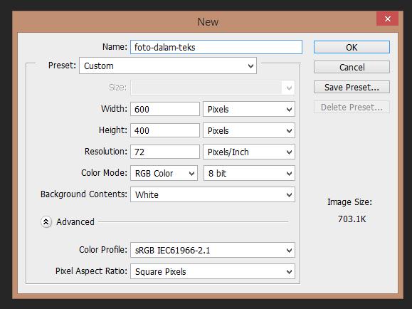 Belajar Photoshop Cara Mudah Memasukkan Gambar Dalam Teks Di Photoshop Website Gedangrejo