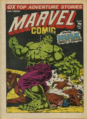 Marvel Comic #332, the Hulk