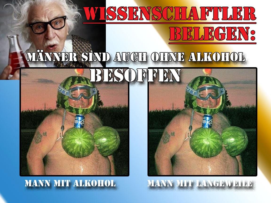 Satire Bilder über Männer und Alkohol lustig