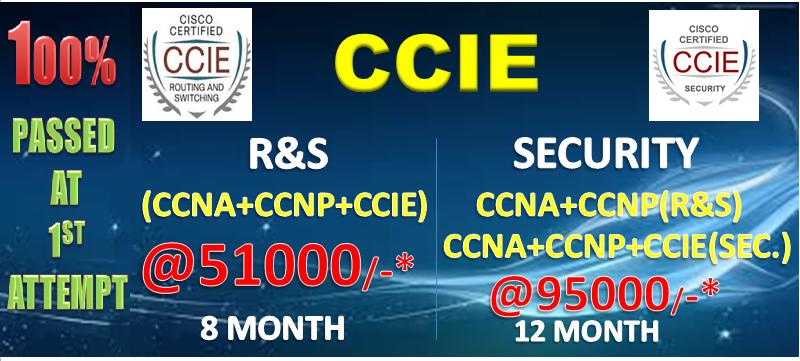 Fundamental advantages of CCIE Security Courses institutes
