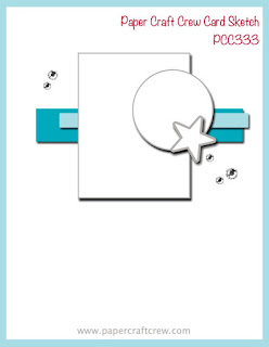 Paper Craft Crew Card Sketch Inspiration #PCC333