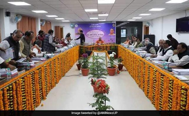 Cabinet+meeting+held+at+Prayagraj+Kumbh