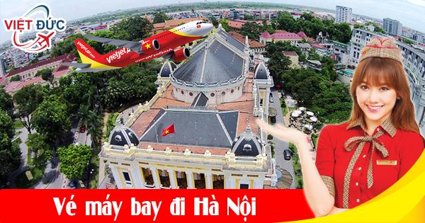 Mua vé máy bay đi Hà Nội giá rẻ