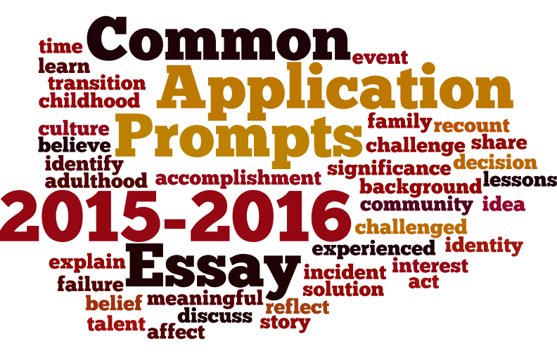 common app essay prompts 2015 The common application has even released its changes for the 2015-16 application season and essay prompts early, also allowing students the opportunity to get started before the application officially opens on august 1.