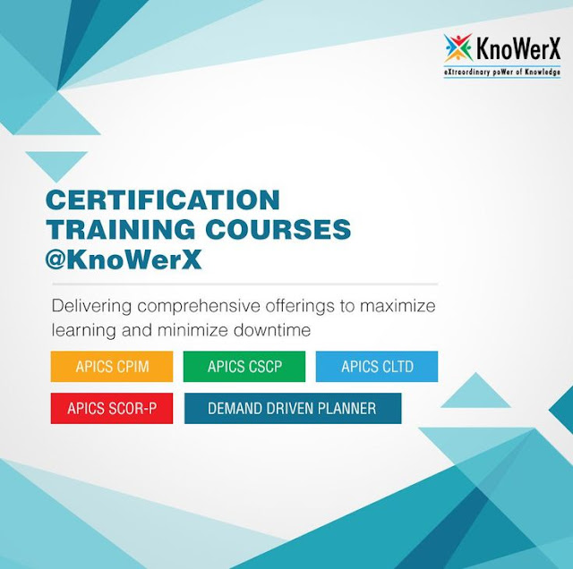 knowerx apics logistics certification