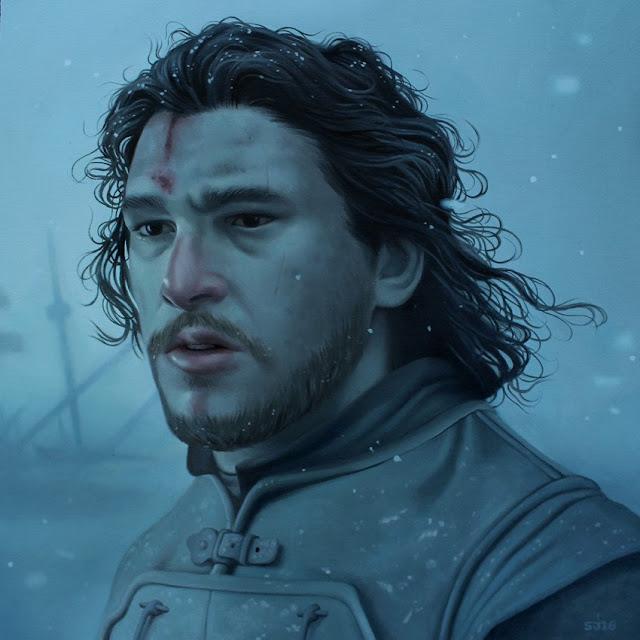 "Sarah Joncas ""Jon Snow"""