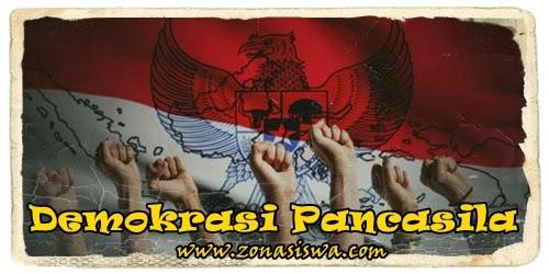 Demokrasi Pancasila | www.zonasiswa.com