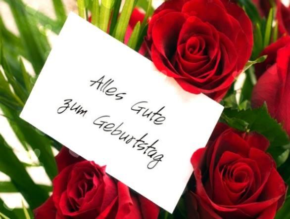 Geburtstagswunsche Rosen Geburtstagswnsche Wunsche Fur