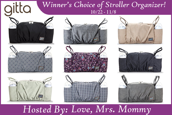 Winner's Choice of Gitta Stroller Organizer Giveaway