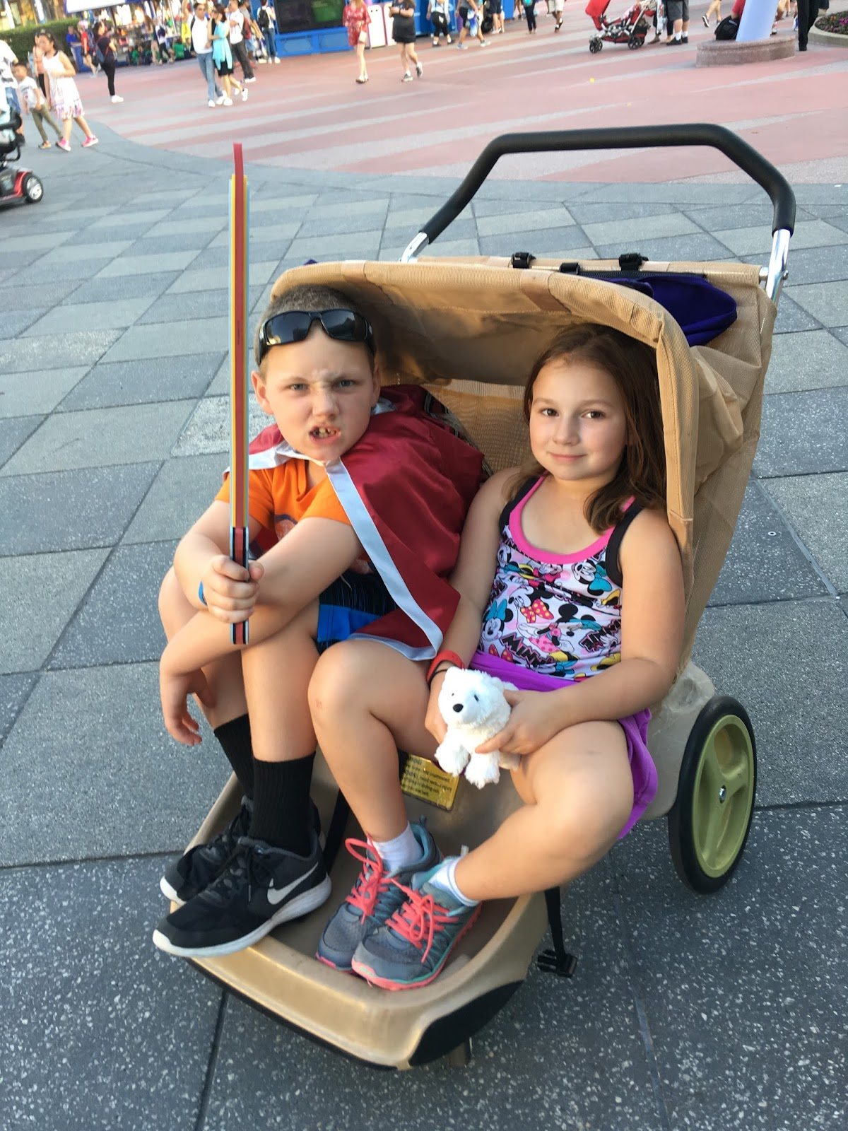 the Mommy Stories: Disney magic : strollers galore