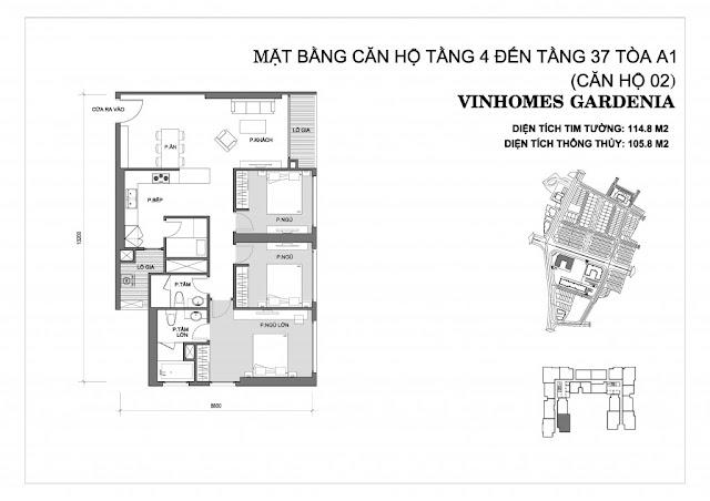 02 - Tòa A1 Vinhomes Gardenia