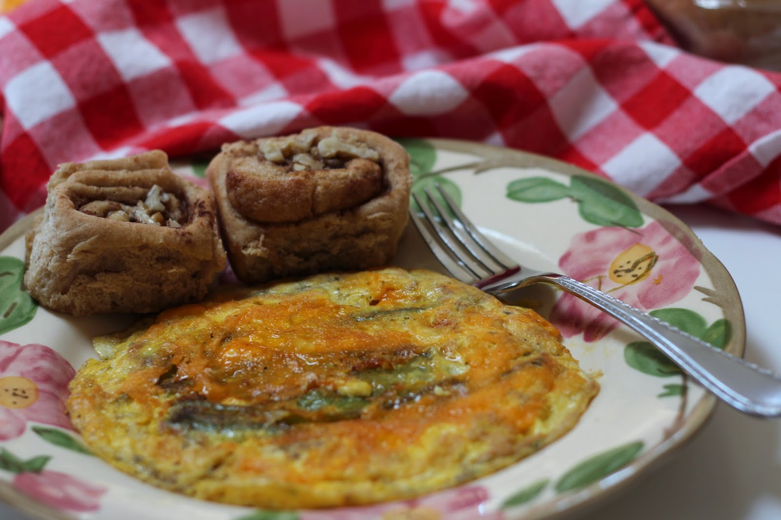 Living from glory to glory blog, Fresh Omelette, Country Breakfast