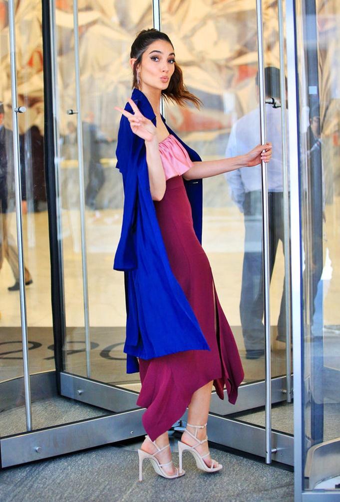 Street Style Lily Aldridge Stylish Starlets