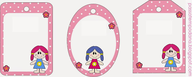 Dolls: Free Printables Candy Bar Labels.