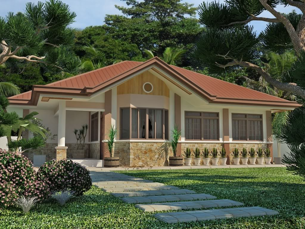 50 photos of small but beautiful and low cost houses that for Budget home designs philippines