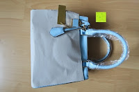 Verpackungsmaterial: Veevan Damen Elegante Top-Handle Schultertasche Handtaschen (Blau)