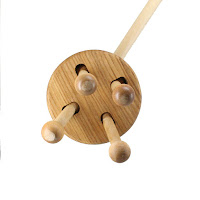 PW09, Push along Walker, Lotes Wooden Toys