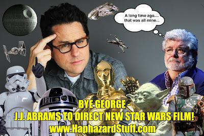 J.J. Abrams takes control of the Star Wars universe