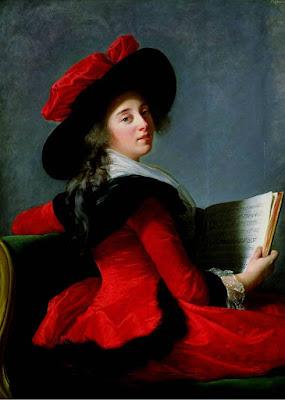 La Baronne de Crussol, Elisabeth Vigée-Lebrun