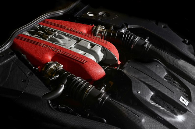 2017 Ferrari F12 TDF Engine