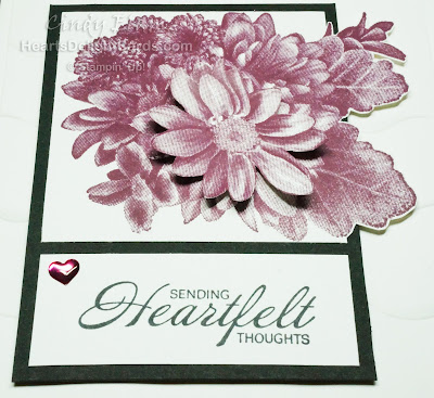 Heartfelt Blooms, SAB, Sale-A-Bration 2018, Stampin' Up!, Thinking of You, Sympathy,