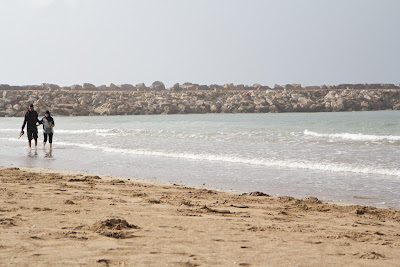 Океан под стенами крепости Касба Удайя - Рабат, Марокко